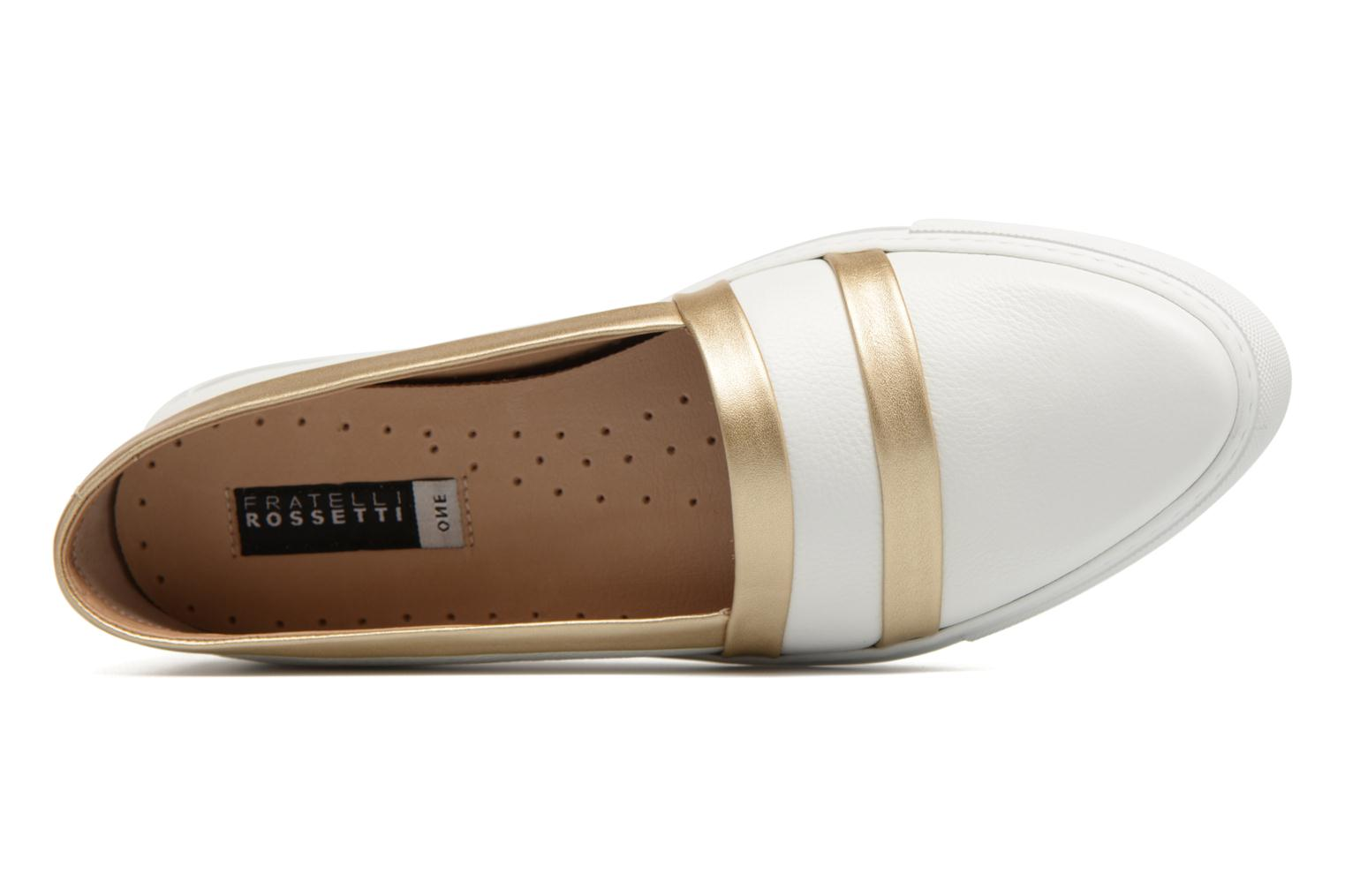 Loafers Fratelli Rossetti Kosa White view from the left