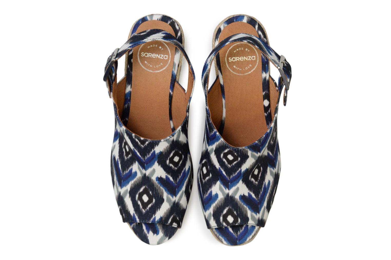 Espadrilles Made by SARENZA Bombays Babes Espadrilles #1 Bleu vue portées chaussures