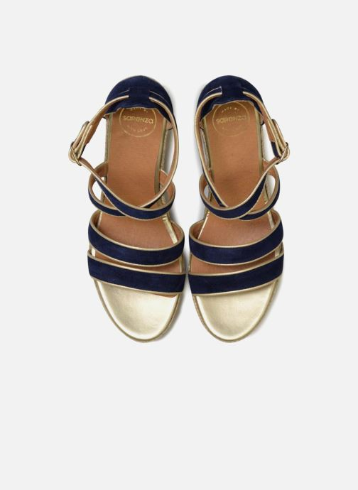 Espadrilles Made by SARENZA Bombays Babes Espadrilles #3 Bleu vue portées chaussures