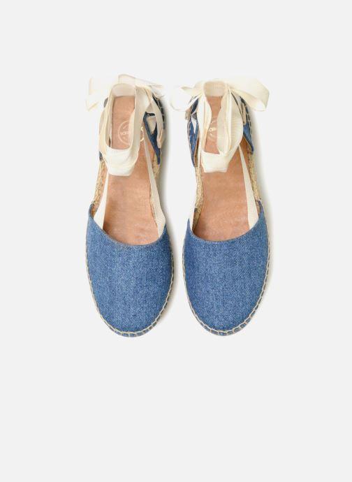 Espadrilles Made by SARENZA Carioca Crew Espadrilles #1 Bleu vue portées chaussures