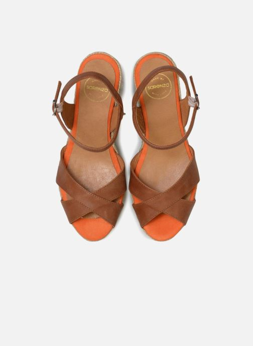 Espadrilles Made by SARENZA Carioca Crew Espadrilles #2 Marron vue portées chaussures