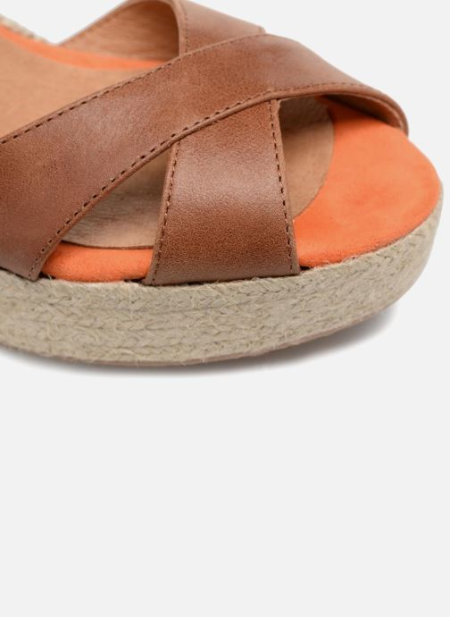 Espadrilles Made by SARENZA Carioca Crew Espadrilles #2 Brown view from the left