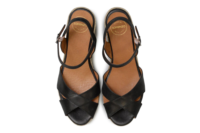 Espadrilles Made by SARENZA Carioca Crew Espadrilles #2 Noir vue portées chaussures