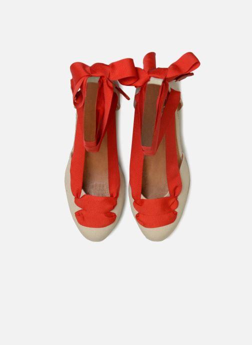 Espadrilles Made by SARENZA Bombays Babes Espadrilles #2 Beige vue portées chaussures