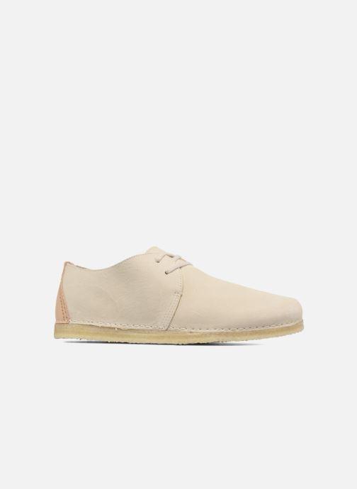 Zapatos con cordones Clarks Originals Ashton W Beige vistra trasera