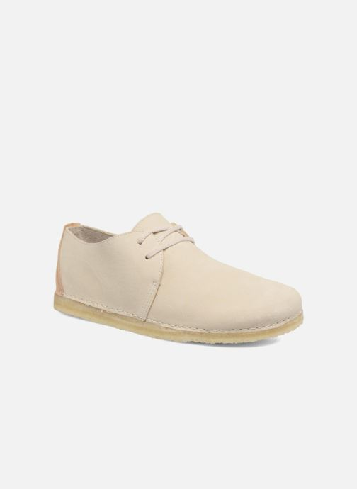 Zapatos con cordones Clarks Originals Ashton W Beige vista de detalle / par