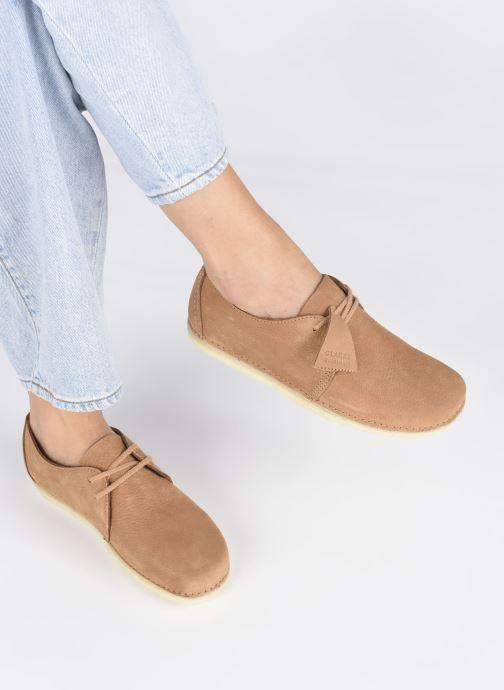 Zapatos con cordones Clarks Originals Ashton W Marrón vista de abajo