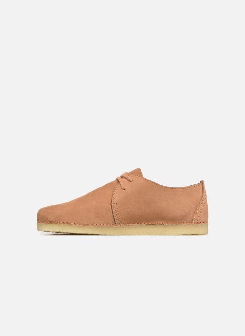 Chaussures à lacets Clarks Originals Ashton W Marron vue face