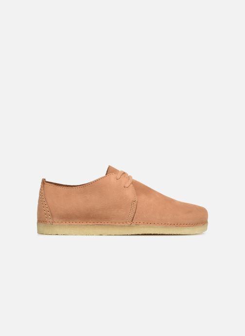 Chaussures à lacets Clarks Originals Ashton W Marron vue derrière