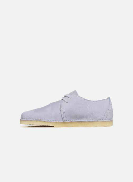 Chaussures à lacets Clarks Originals Ashton W Violet vue face