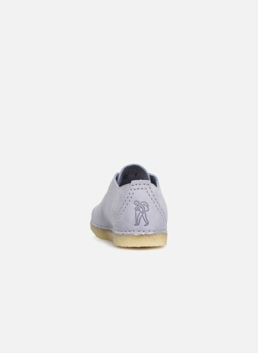 Chaussures à lacets Clarks Originals Ashton W Violet vue droite