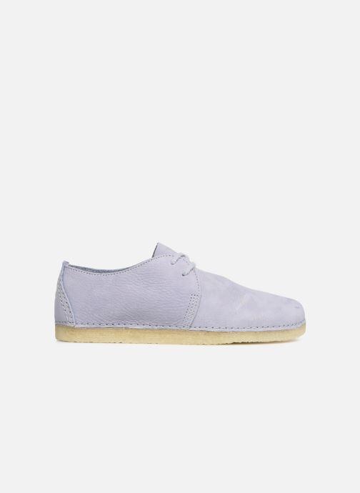 Chaussures à lacets Clarks Originals Ashton W Violet vue derrière