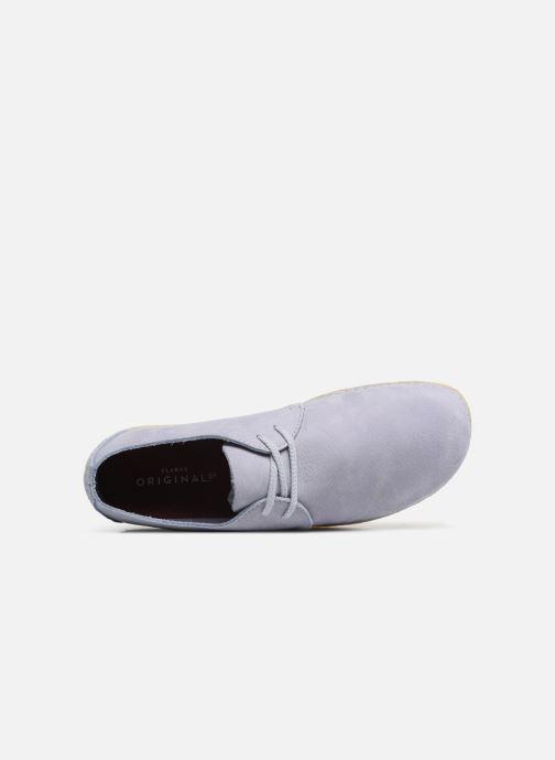 Chaussures à lacets Clarks Originals Ashton W Violet vue gauche