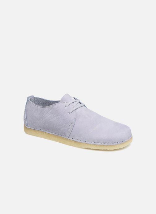 Chaussures à lacets Clarks Originals Ashton W Violet vue détail/paire