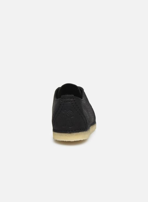 Lace-up shoes Clarks Originals Ashton W Black view from the right