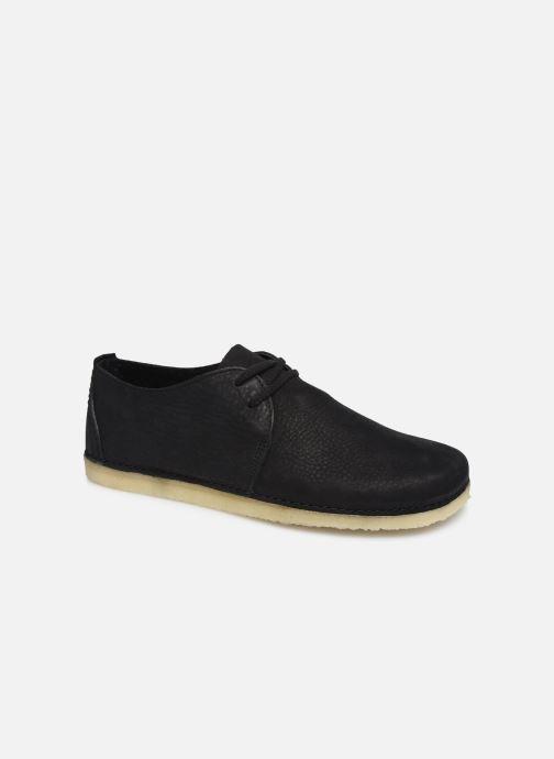 Chaussures à lacets Clarks Originals Ashton W Noir vue détail/paire