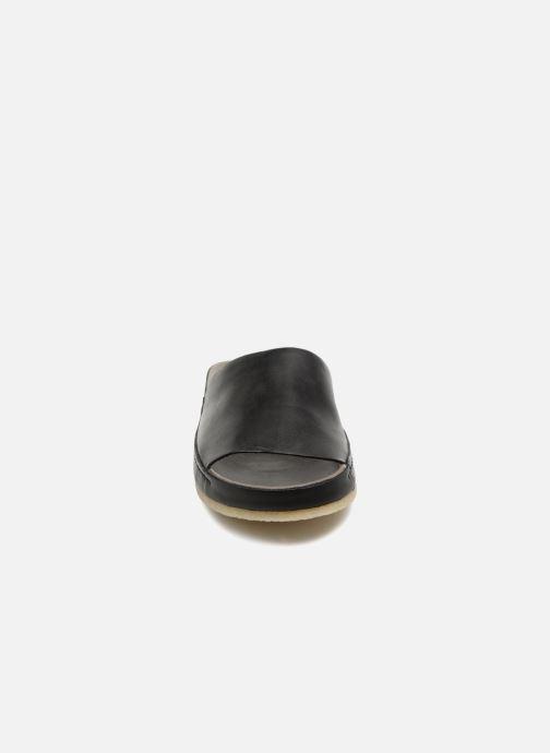 Mules et sabots Clarks Originals Ranger Free W Noir vue portées chaussures