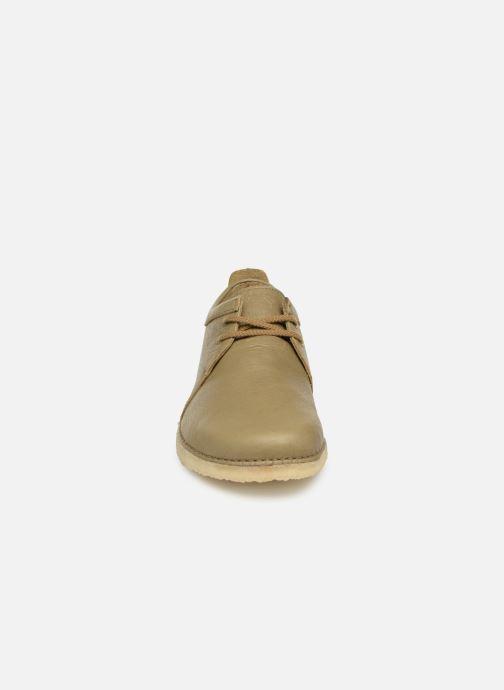 Chaussures à lacets Clarks Originals Ashton M Vert vue portées chaussures