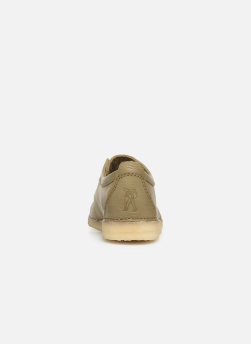 Lace-up shoes Clarks Originals Ashton M Green view from the right