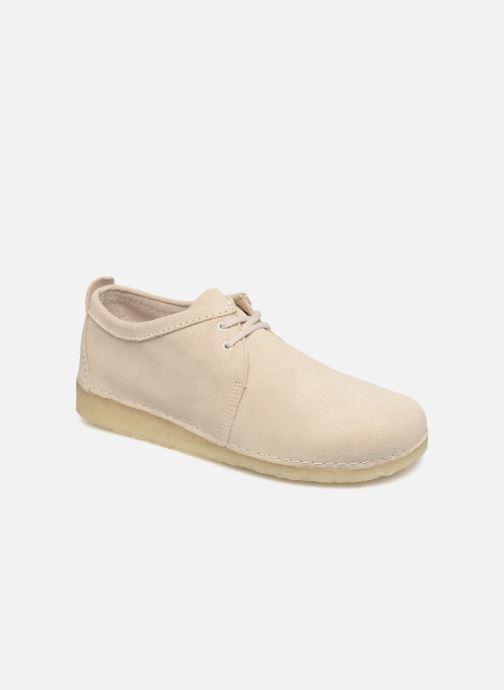 Snøresko Clarks Originals Ashton M Beige detaljeret billede af skoene