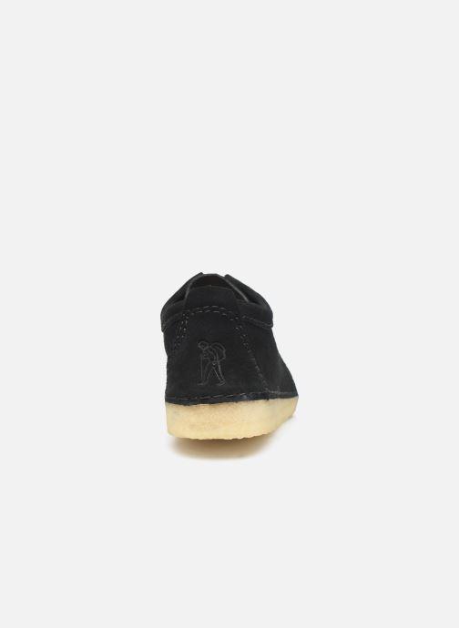 Chaussures à lacets Clarks Originals Ashton M Noir vue droite