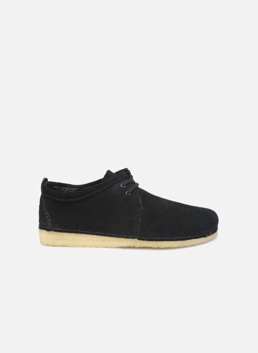 Chaussures à lacets Clarks Originals Ashton M Noir vue derrière