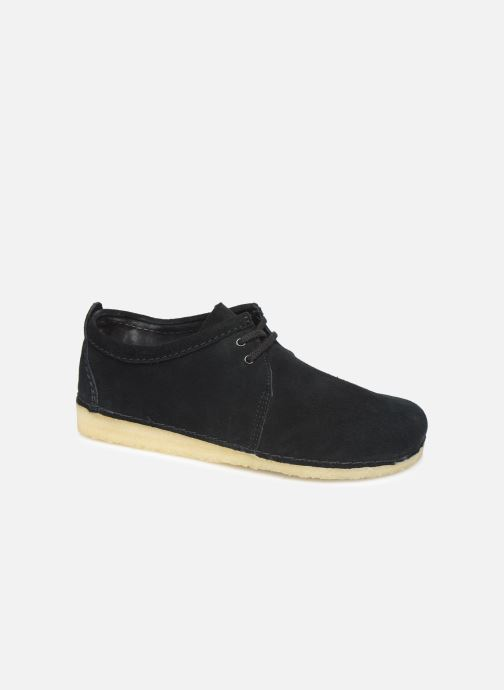 Chaussures à lacets Clarks Originals Ashton M Noir vue détail/paire