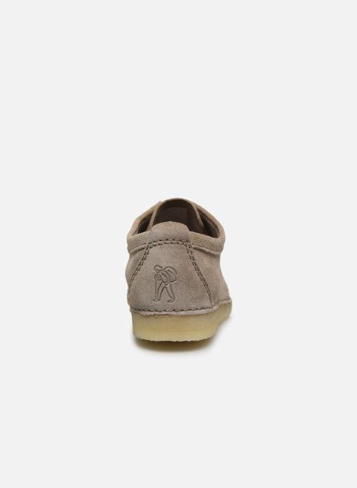 Chaussures à lacets Clarks Originals Ashton M Beige vue droite