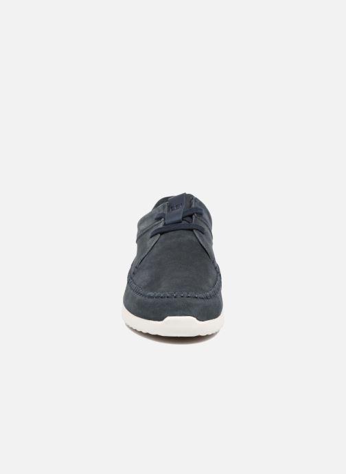 big sale 9b34d 4f451 Sneakers Clarks Originals Tor Track Azzurro modello indossato