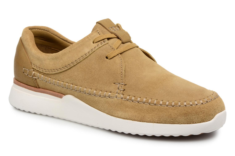 official photos b8055 fdcc2 Sneakers Clarks Originals Tor Track Marrone vedi dettaglio paio