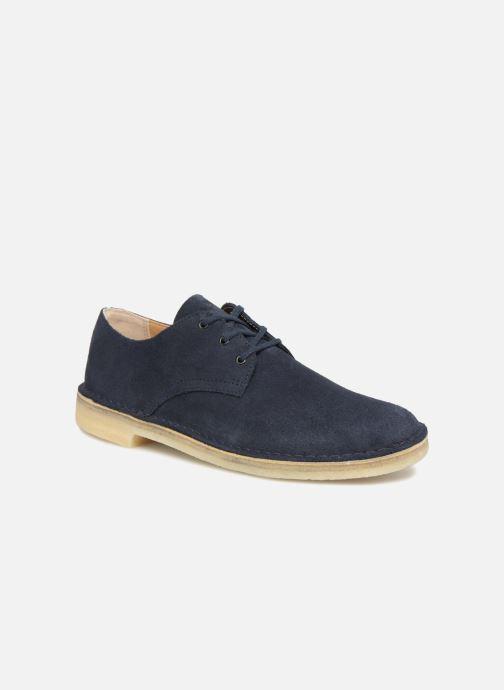 709558a2b76bae Chaussures à lacets Clarks Originals Desert Crosby Bleu vue détail/paire