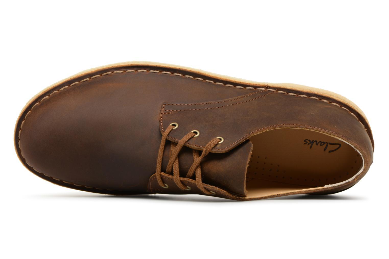 Chaussures à lacets Clarks Originals Desert Crosby Noir vue gauche