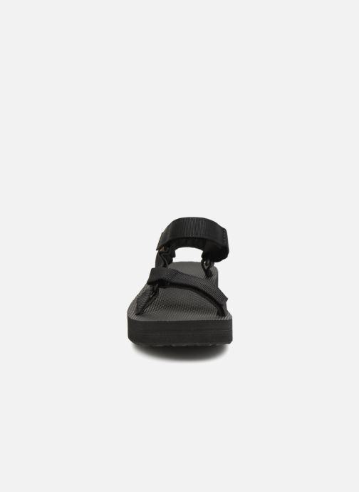 Sandalias Teva Midform Universal W Negro vista del modelo