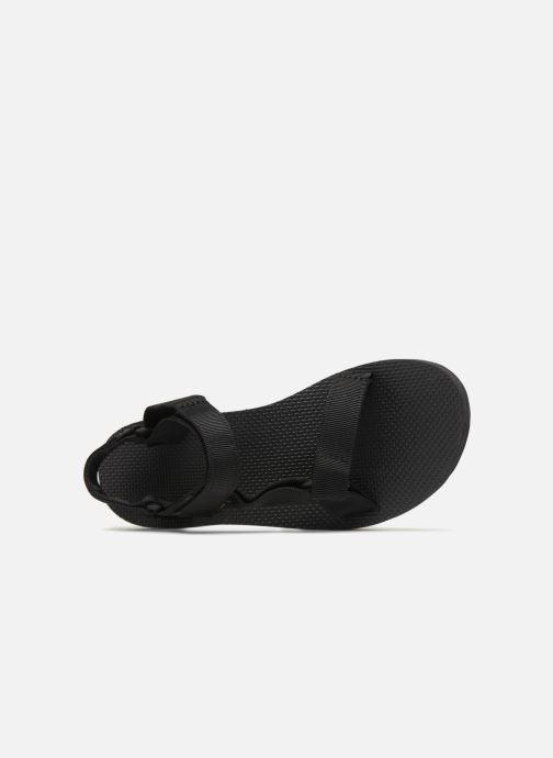 Sandalias Teva Midform Universal W Negro vista lateral izquierda
