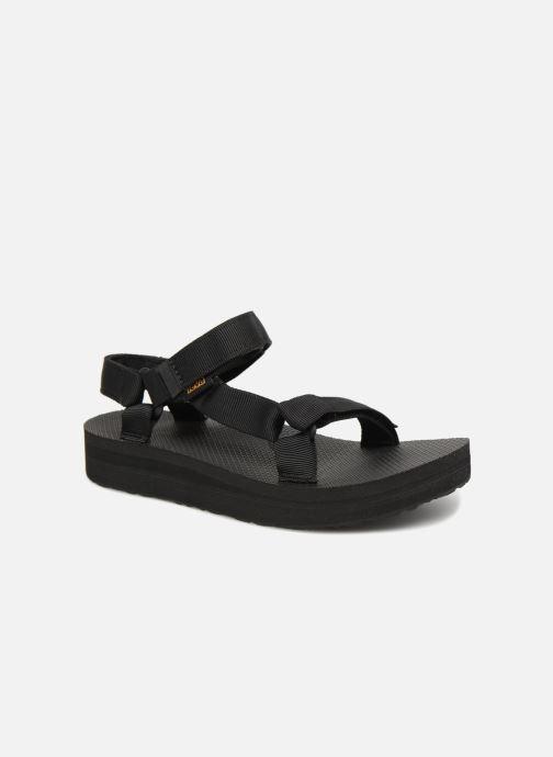 Sandalen Teva Midform Universal W schwarz detaillierte ansicht/modell