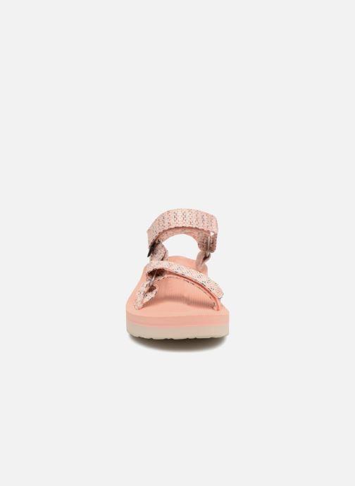 43cab2a89ee5 Sandali e scarpe aperte Teva Midform Universal W Rosa modello indossato