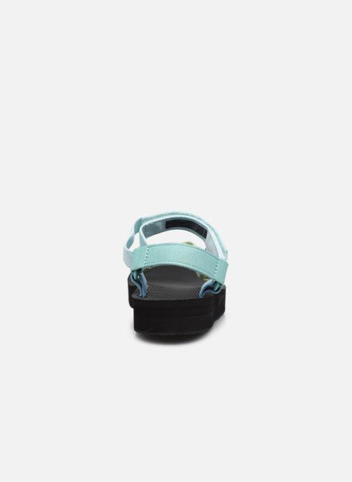 Sandali e scarpe aperte Teva Midform Universal W Multicolore immagine destra