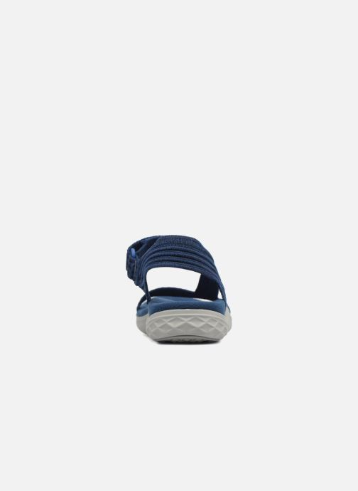 Sportschuhe Teva Terra-Float 2 Knit Universal blau ansicht von rechts