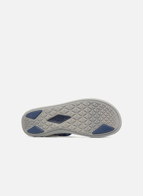 Sportschuhe Teva Terra-Float 2 Knit Universal blau ansicht von oben