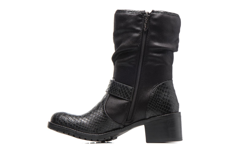 Bottines et boots Les P'tites Bombes ELINA 4 Noir vue face