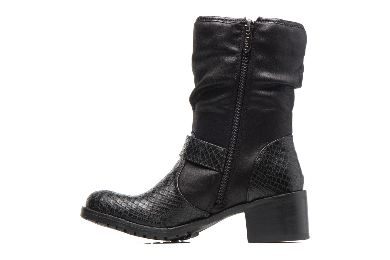 Ankle boots Les P'tites Bombes ELINA 4 Black front view