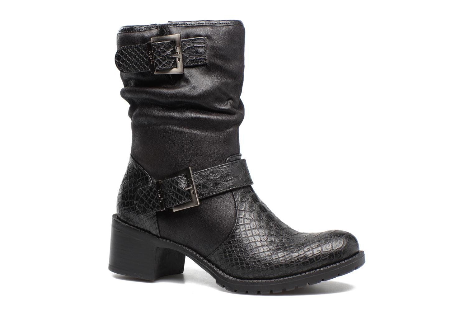 Ankle boots Les P'tites Bombes ELINA 4 Black detailed view/ Pair view