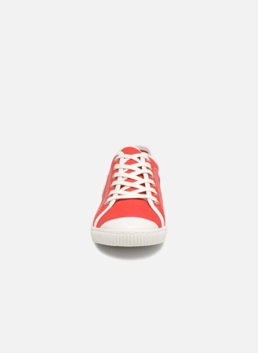 Baskets Pataugas Baher/t Rouge vue portées chaussures