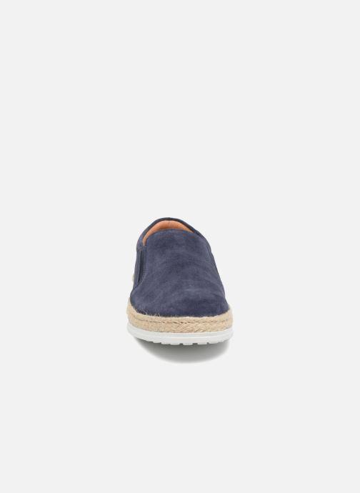 Mocassins Pataugas Pieric Bleu vue portées chaussures