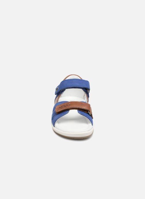 Sandalen Kickers Soan Blauw model