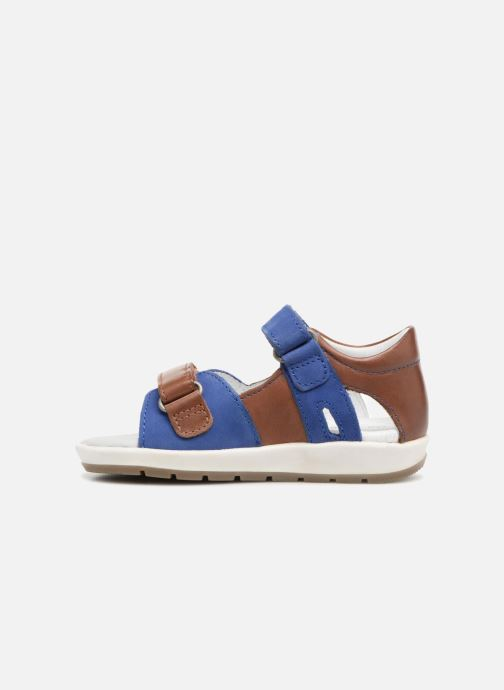 Sandalen Kickers Soan Blauw voorkant