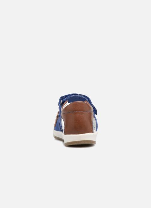 Sandalen Kickers Soan Blauw rechts
