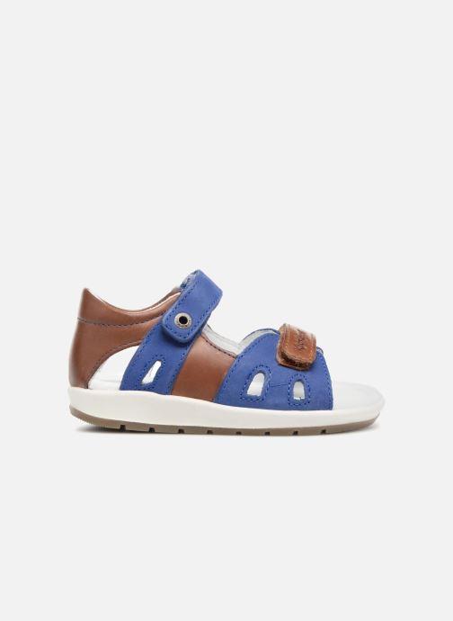 Sandalen Kickers Soan Blauw achterkant