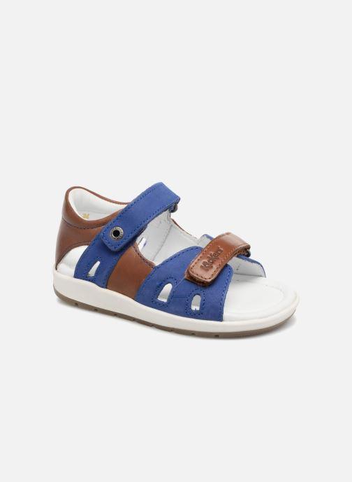Sandalen Kickers Soan Blauw detail