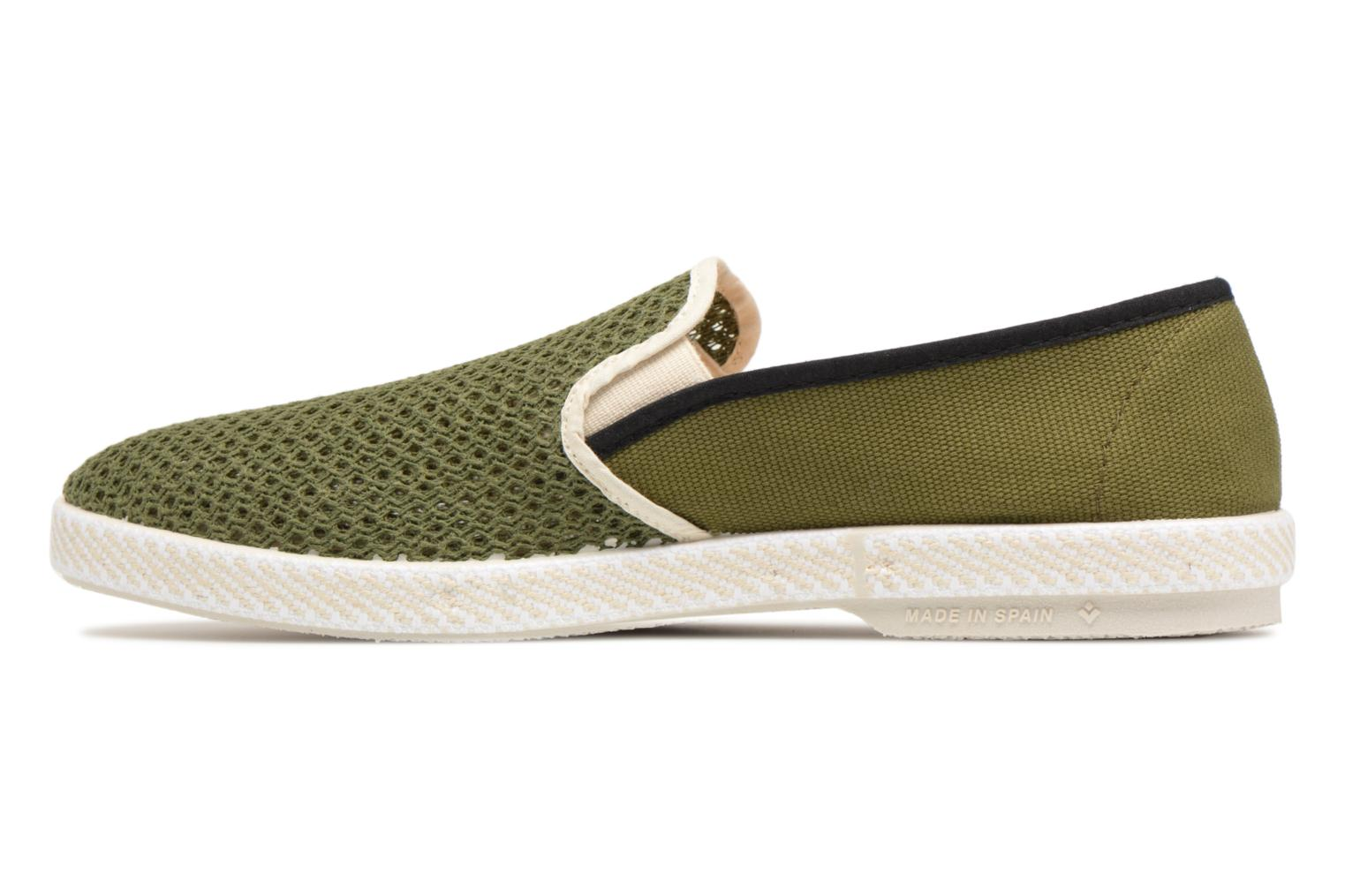 Loafers Rivieras Phocea Green front view
